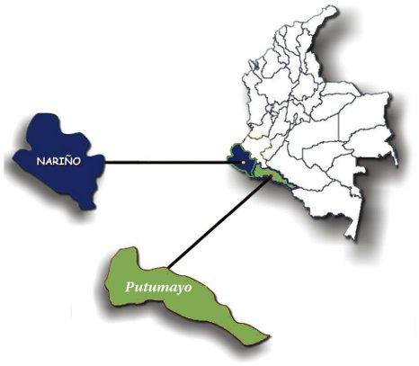 mapa cubrimiento narino putumayo